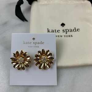 NEW KATE SPADE DAISY POST EARRINGS